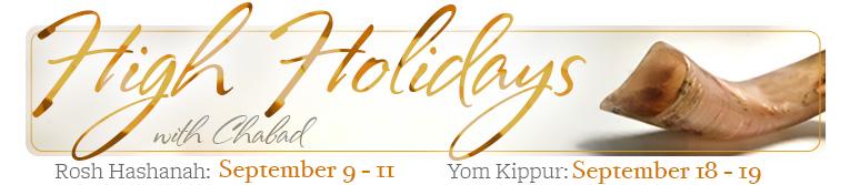 High Holiday at Chabad