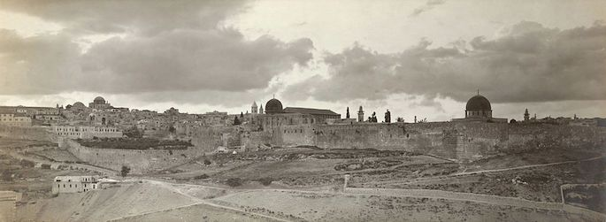 Panorama of Jerusalem (United States Library of Congress).