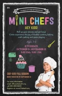 Mini Chefs Register