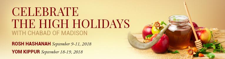 High Holidays at Chabad of Madison