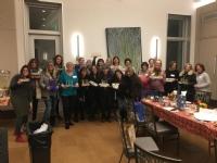 Chanukah Women's Group 2017