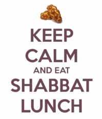 Shabbat Lunch Dedication