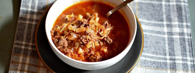 "Soup: Easy ""Unstuffed Cabbage"" Soup"