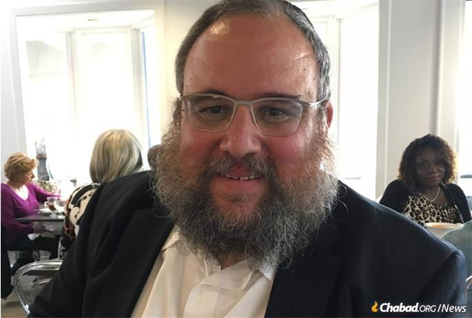 Rabbi Levi Shemtov, co-founder and co-director with his wife, Bassie, of Friendship Circle