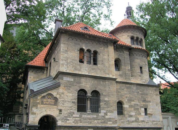 Former quarters of the famed chevra kadisha of Prague (Flickr).