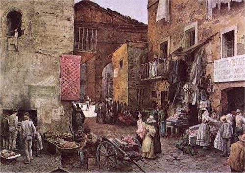 Roman Ghetto (Wikimedia)