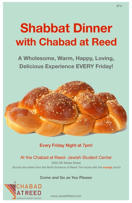Shabbat - Chabad at Reed College