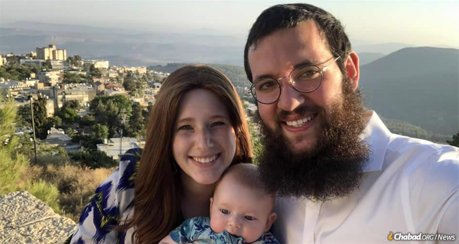 Rabbi Shneur and Chana Wolf, together with their infant son, Leib, are preparing to move to rural northwest Montana, where they will found a Chabad center, the third in the state.