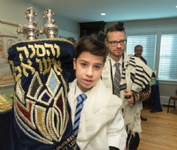 Bar Mitzvah at Chabad 2018