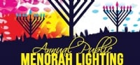Menorah Lighting 2017