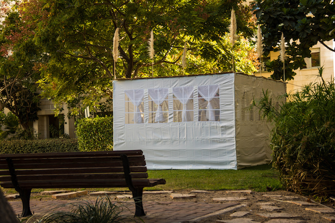The holiday of Sukkot is celebrated by dwelling in the sukkah hut.