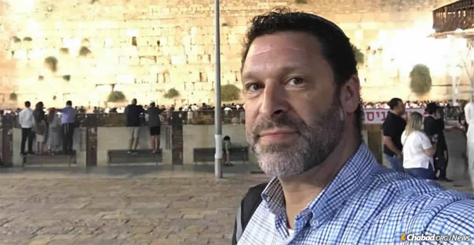 Ari Fuld, seen here in Jerusalem, was stabbed and killed on Sept. 16 by a Palestinian terrorist near his home in Efrat, Israel.
