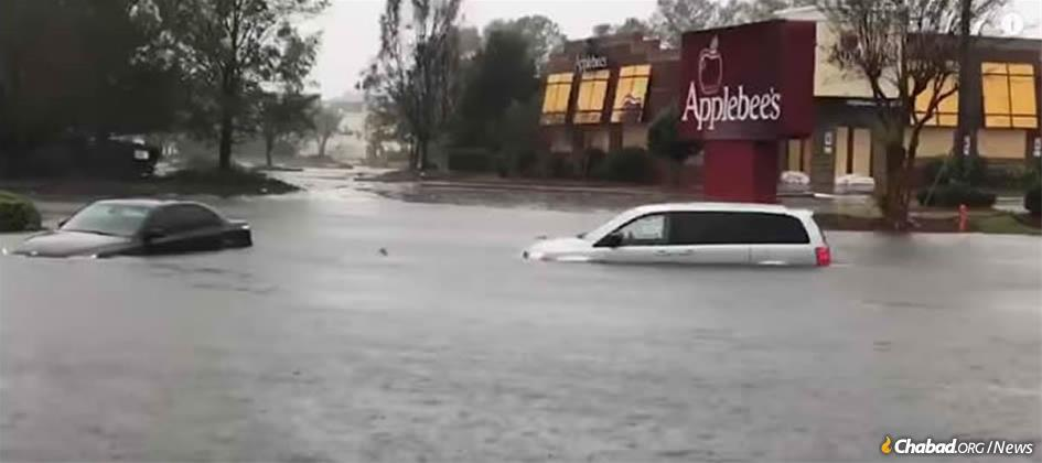 The torrential downpours and storm surges generated by Hurricane Florence have cut off all roads to Wilmington, N.C. The airport is closed, and so is the port, rendering the city virtually inaccessible.