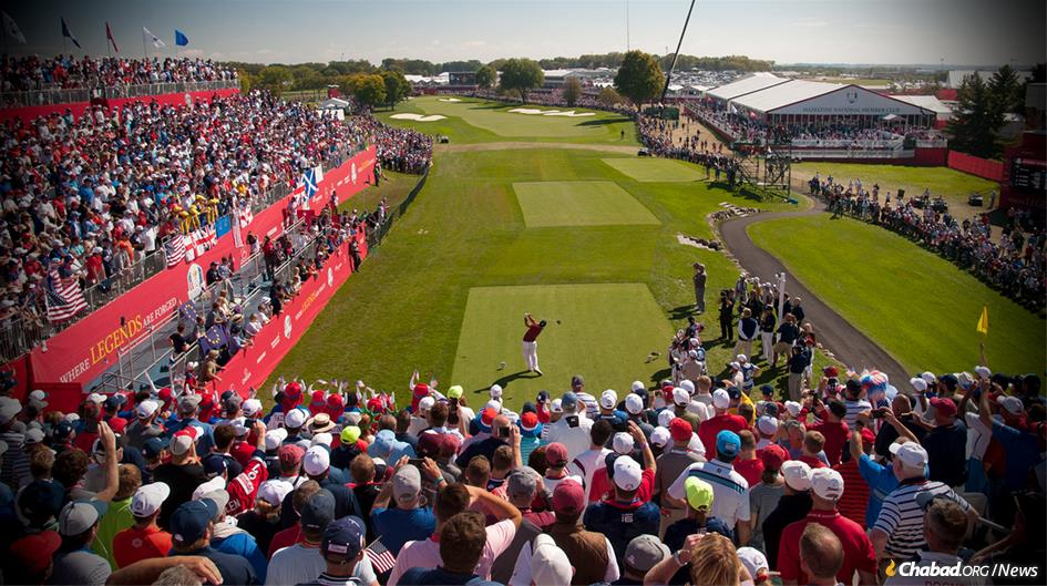 Some 8,000 guests are expected to attend the Ryder Cup in the idyllic planned community of Saint-Quentin-en-Yvelines, about 40 miles south of Paris. (File photo)