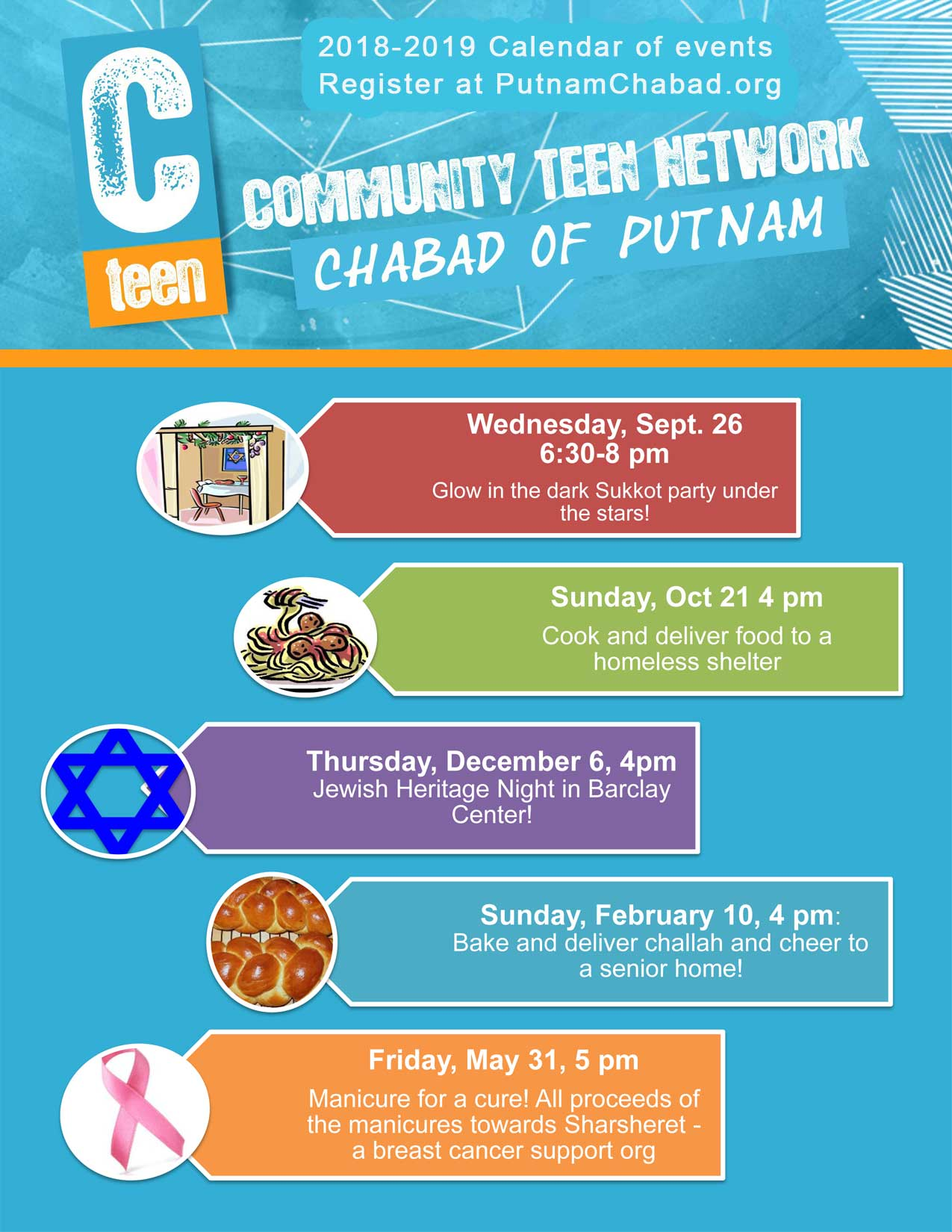 CTeen Program! - Chabad of Putnam