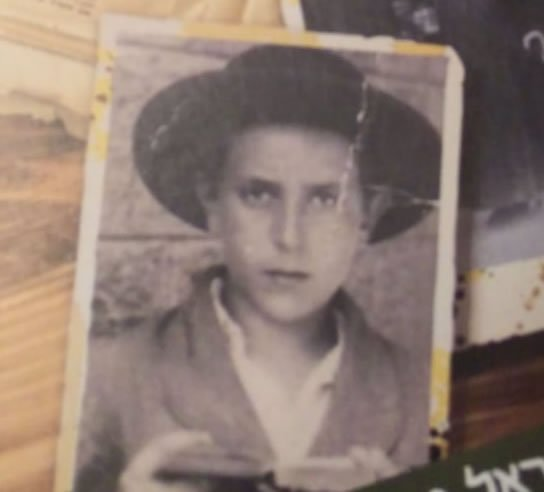My grandfather at 13 - the age he was when this story took place.