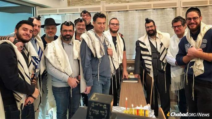 Community members are ready to welcome Jewish visitors.