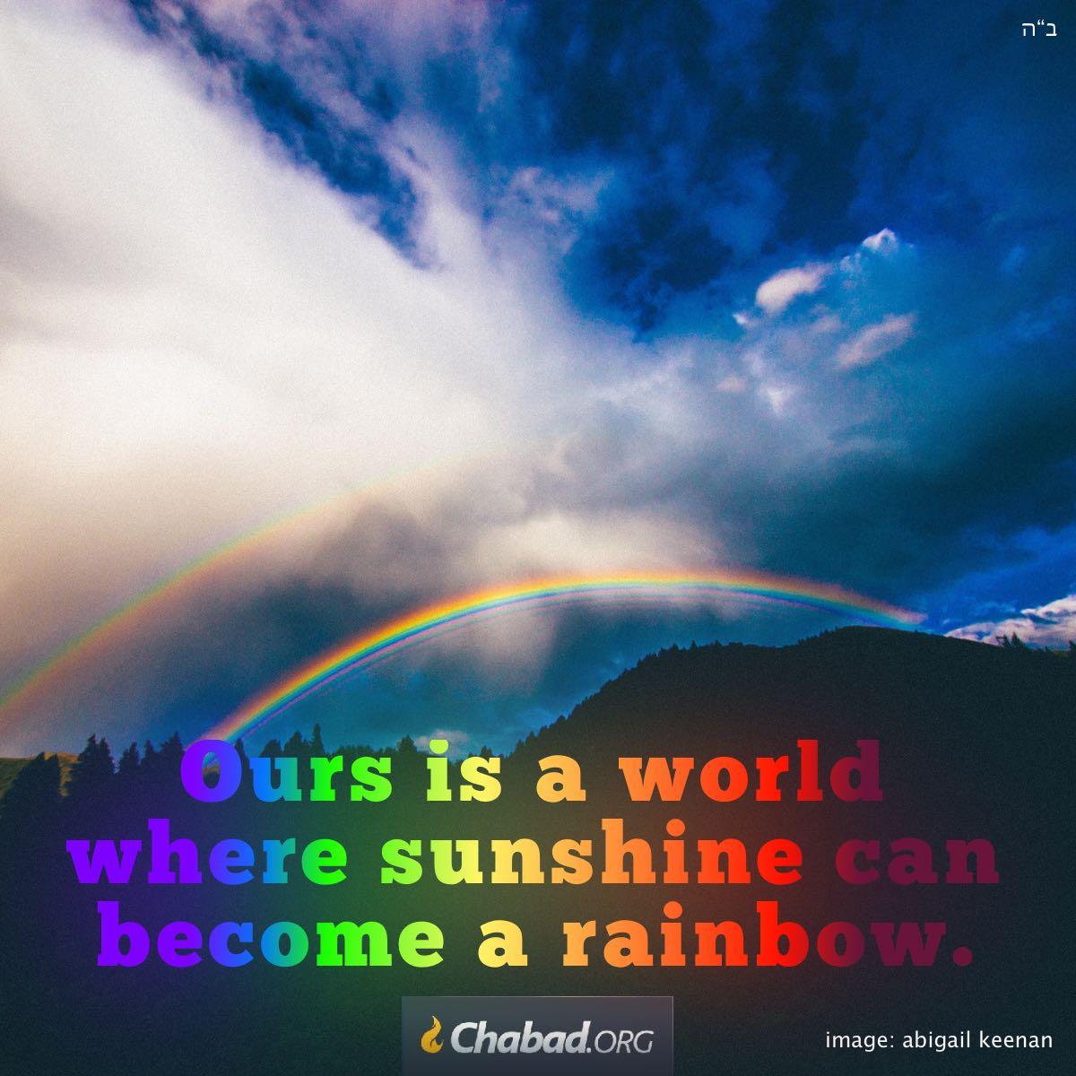 The Rainbow Daily Dose Of Wisdom