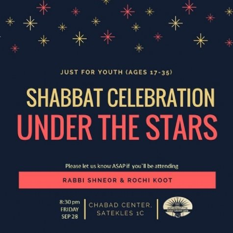 Shabbat Celebration under the Stars