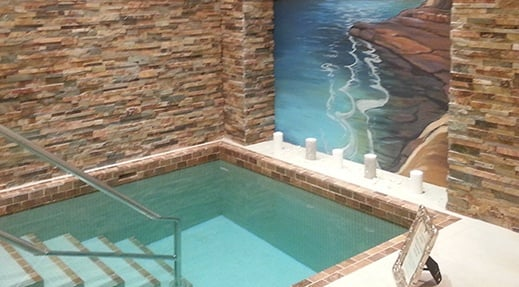 A mikvah (photo: Chabad of Boca Raton)