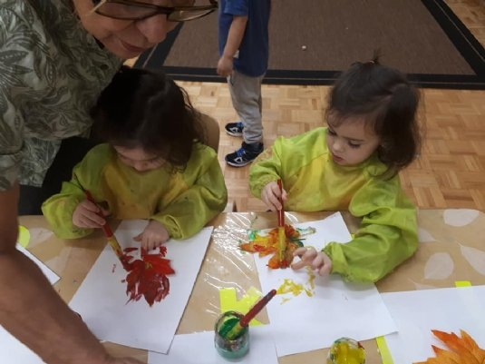 painting leaves-gc preschool.jpg