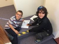 Creative day at Hebrew School!