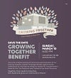 Growing Together Benefit