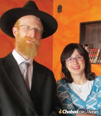 Rabbi Chaim and Chaya Mushka Segal