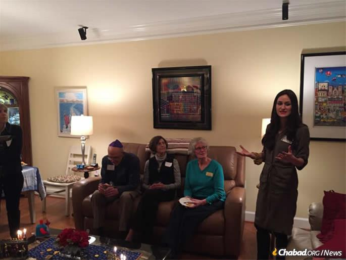 """Yehudis Cohen and her husband, Rabbi Chaim Levi Cohen, were meeting theJewish community of Loudoun County, Va., last year when Albert and Dale Citron hosted a Chanukah party for their friends and neighbors. As a token of appreciation, they gave the Citrons the """"My Story"""" book."""