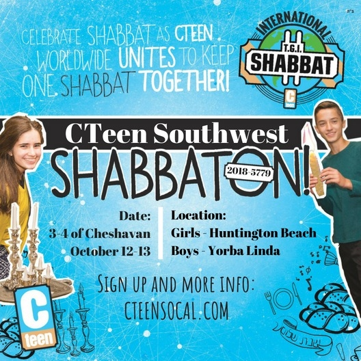 cteen regional shabbaton