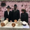 First Stop Is Mexico for Traveling Torah Dedicated to Long Island Emissaries' Son