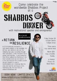 Friday night dinner- The Shabbat Project