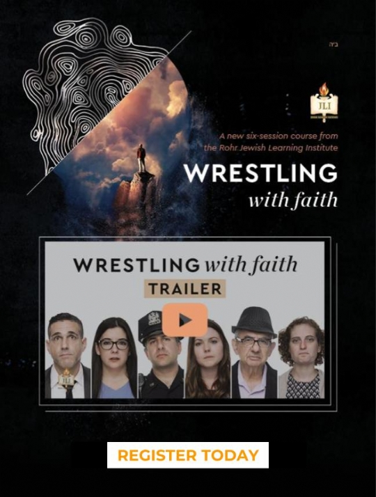 Wrestling With Faith
