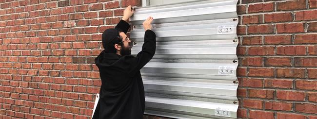 October 2018: As Thousands Fled Hurricane Michael, This Rabbi Moved In and Is Helping Others