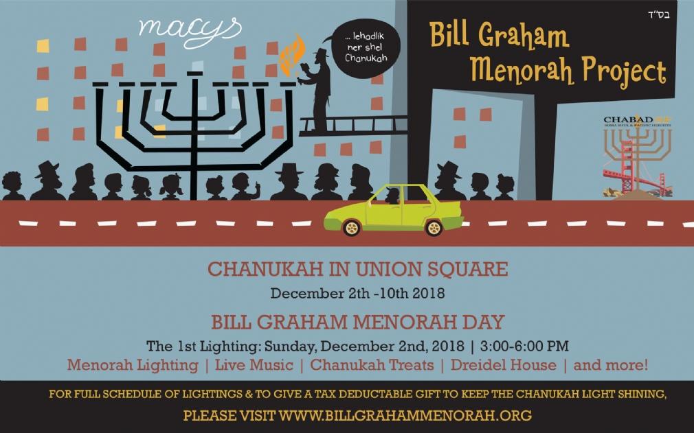 Bill Graham Menorah