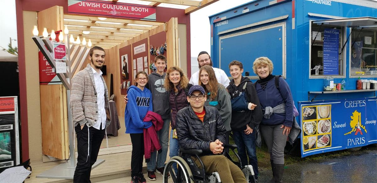 Alaskans Get a Taste of Jewish Tradition and History at