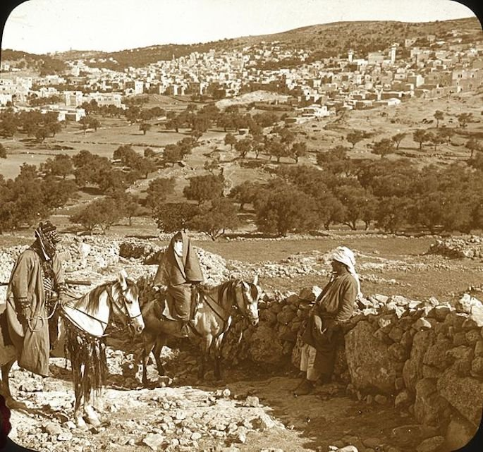 """The Hill of Hebron From the Southeast."" (Photo: Wikimedia)"