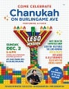 Burlingame Menorah lighting