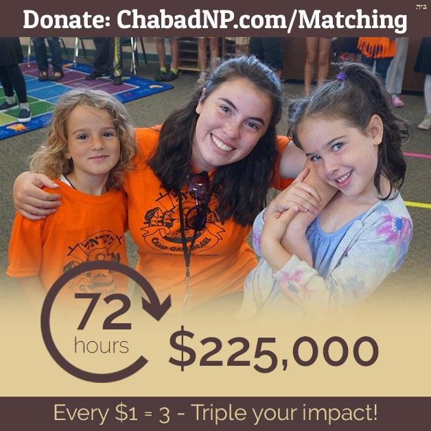 Matchathon 5780 - Chabad of the North Peninsula