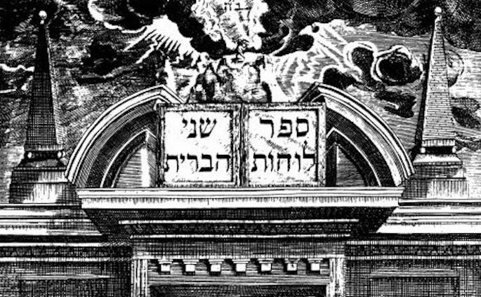 Detail from an early printing of Shnei Luchot Habrit (Amsterdam, 1698). (Photo: Library of Agudas Chassidei Chabad—Ohel Yosef Yitzchak Lubavitch)