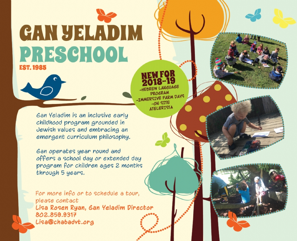 Image result for Gan Yeladim preschool vermont