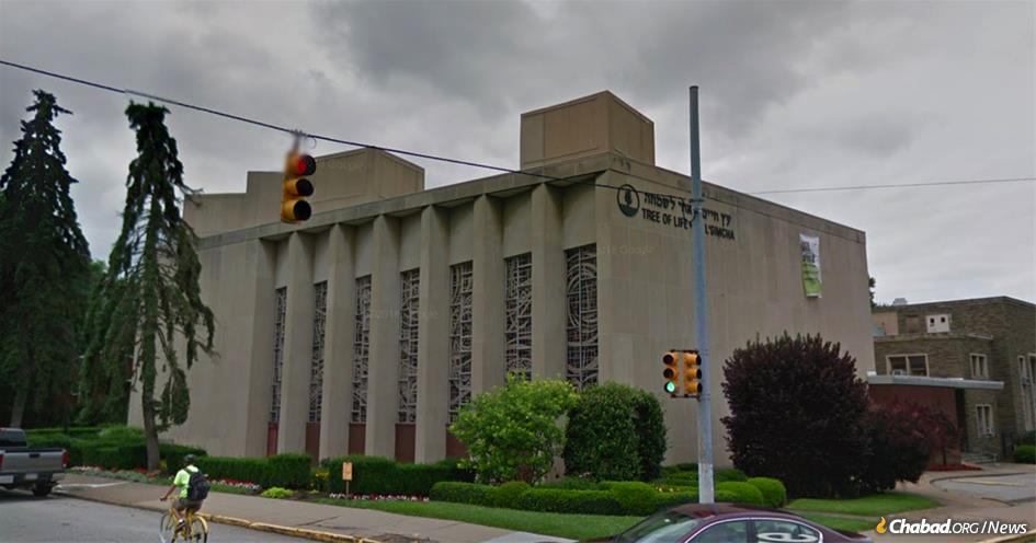 An anti-Semitic gunman shot and killed at least 11 worshippers in the midst of Shabbat-morning services at the Tree of Life synagogue in the Squirrel Hill section of Pittsburgh, Pa.
