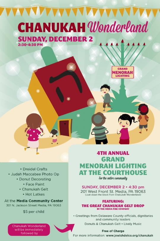 Chanukah 5779 - Chabad of Delaware County
