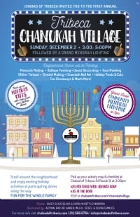 Tribeca Chanukah Village