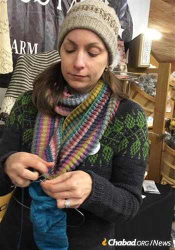 The weekend celebrates yarn, knitting and fiber arts.