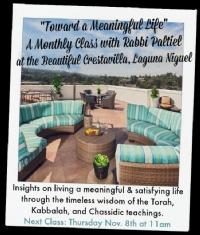 Toward a Meaningful Life - at Crestavilla