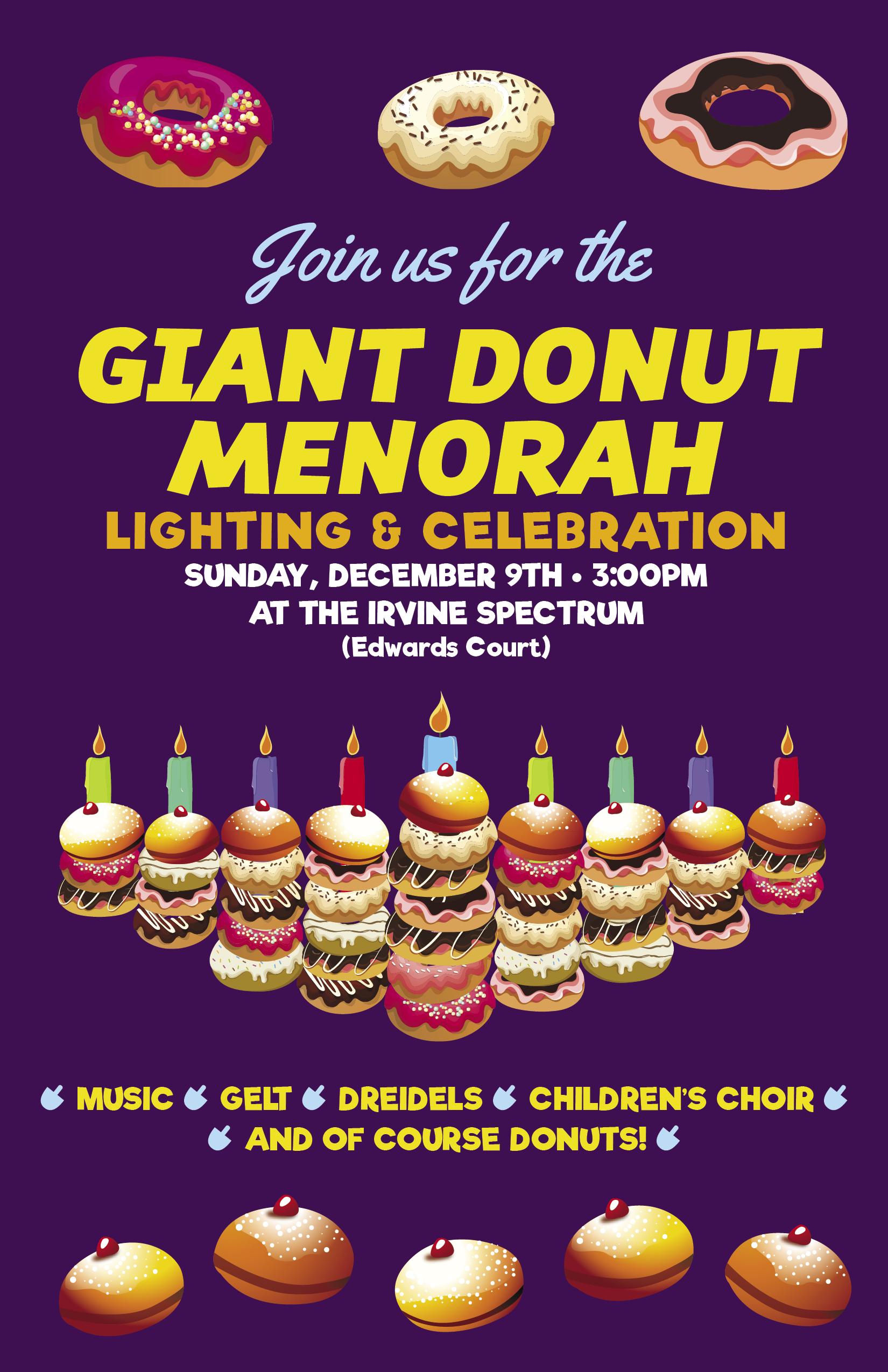 Giant Donut Menorah.jpg