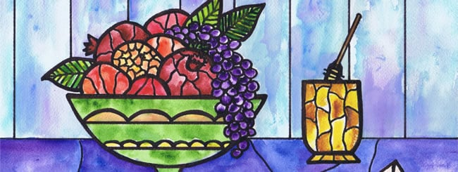Jewish Art for the Soul: Sweet Fruit for a Sweet Year