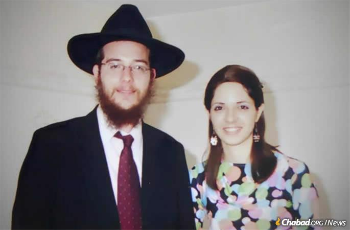 Rabbi Gabi and Rivky Holtzberg
