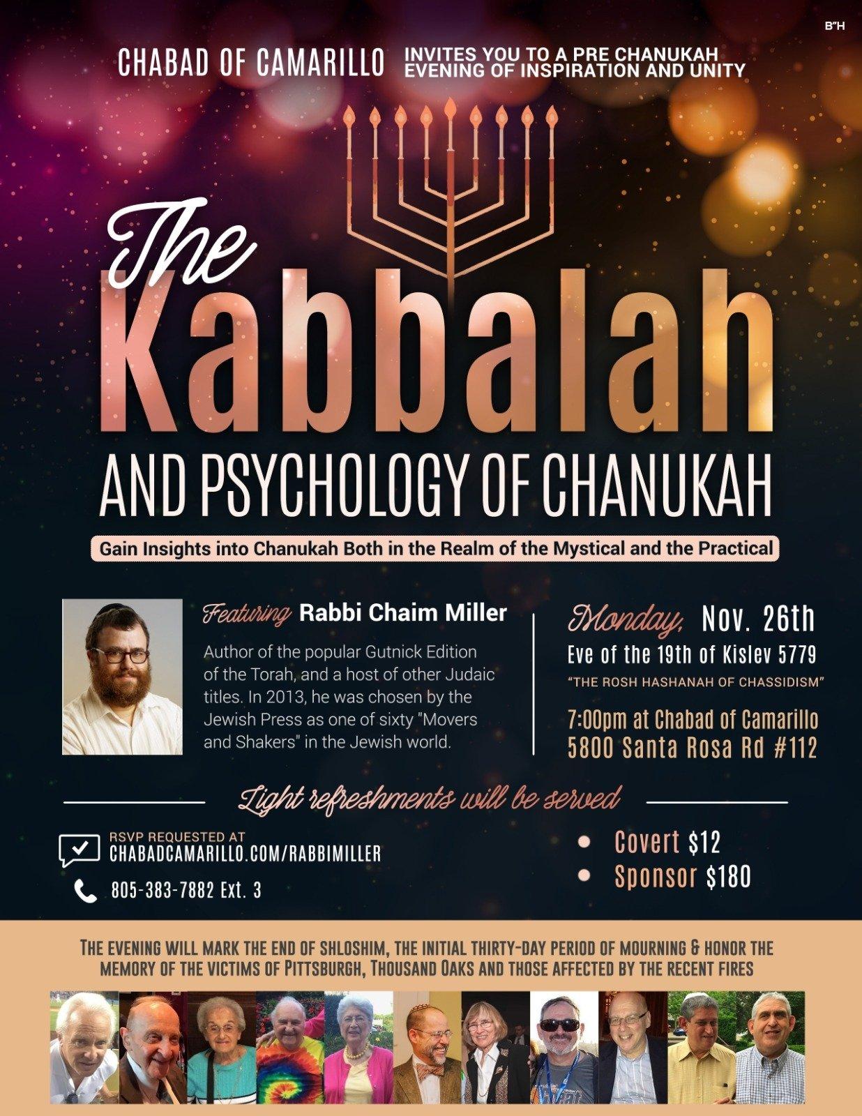 The Kabbalah and Psychology of Chanukah - Chabad Jewish